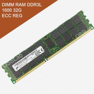 z[SERVER 加購專區] DIMM RAM DDR3L 低電壓 1600 32G ECC REG 伺服器專用記憶體 (Micron美光)