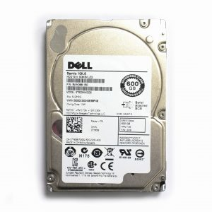 [SERVER 加購專區] DELL 2.5吋 SAS 600G 10000轉 HDD硬碟 – ST600MM0006